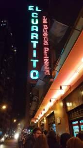 El Cuartito Outside
